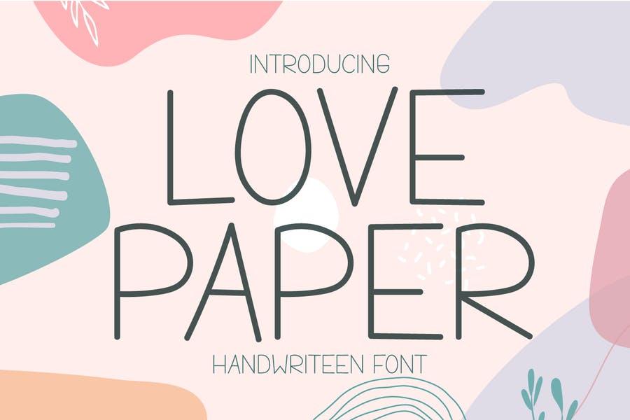 Handwritten Newspaper Fonts