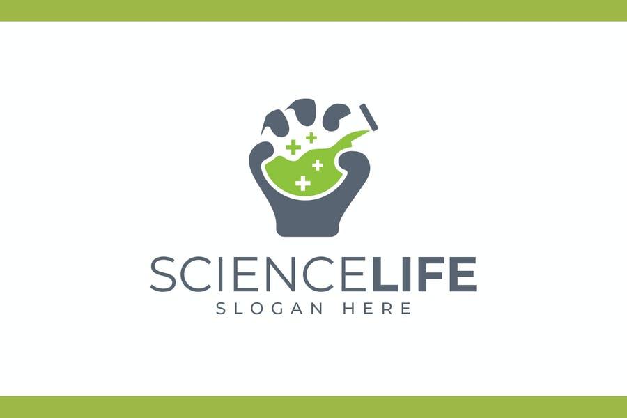 Healt and Science Logo