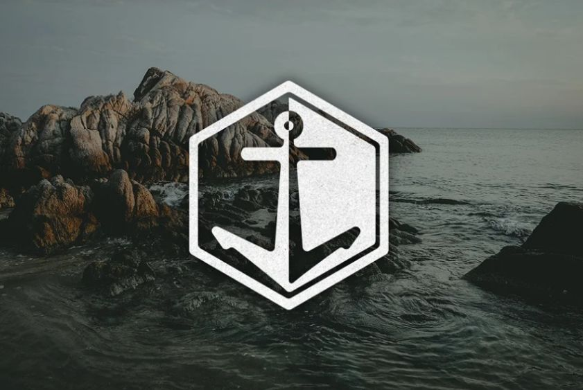 Hexagon Style Anchor Identity