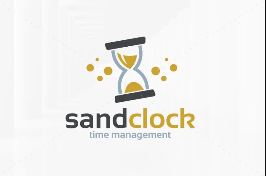 Hourglass Logo Design Idea