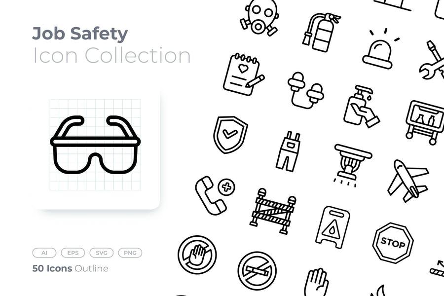 Job Safety Vector Elements