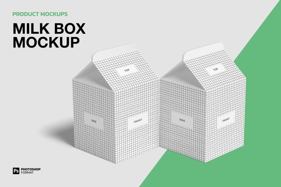 Layered Box Mockup PSD