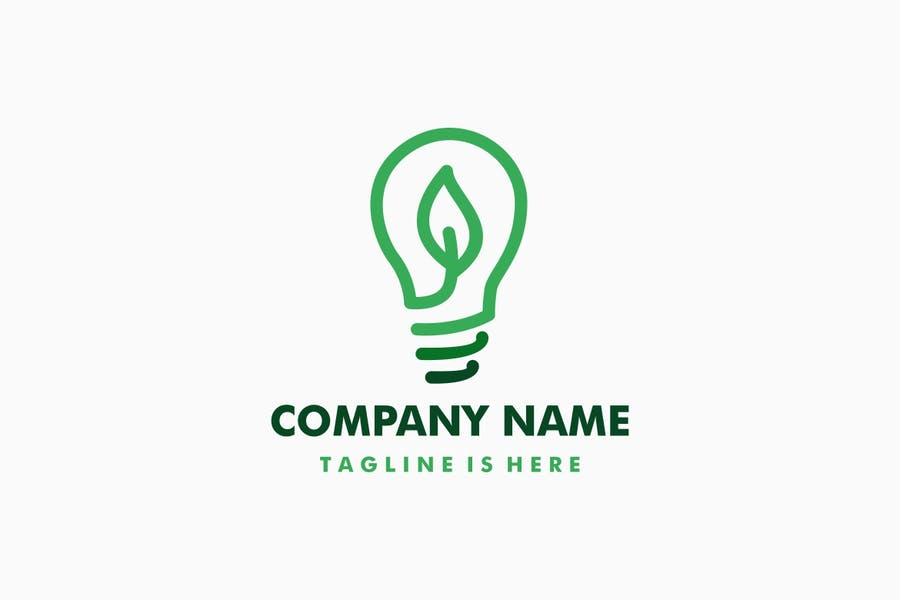 Leaf Bulb Identity Design