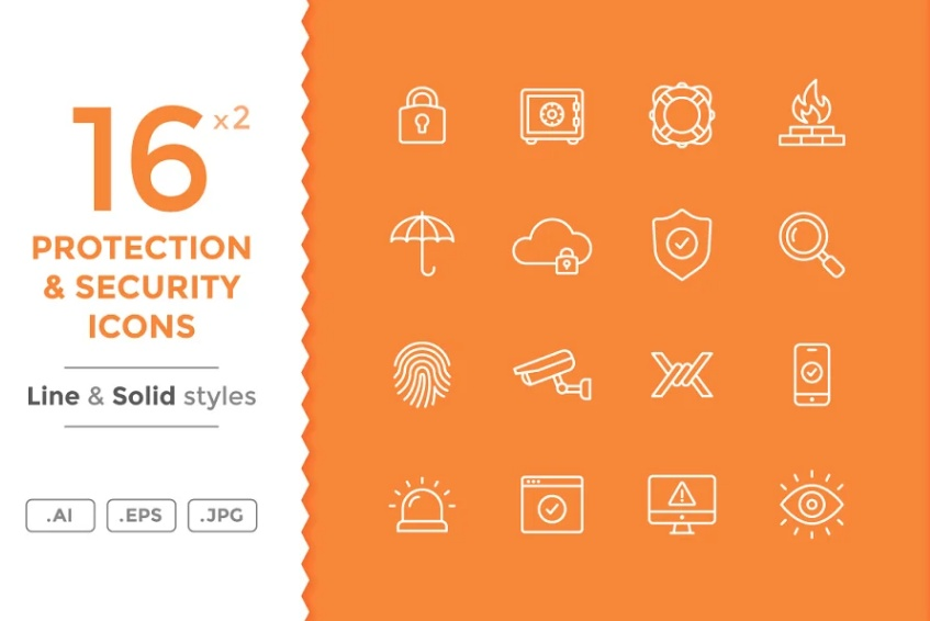 21+ FREE Safety Icons Vector Illustrations Download