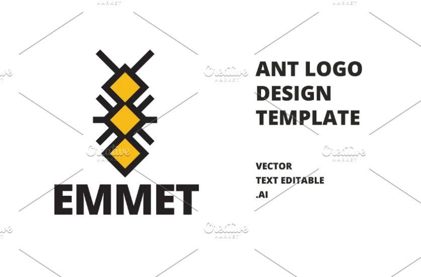 Minimal Ant Illustration