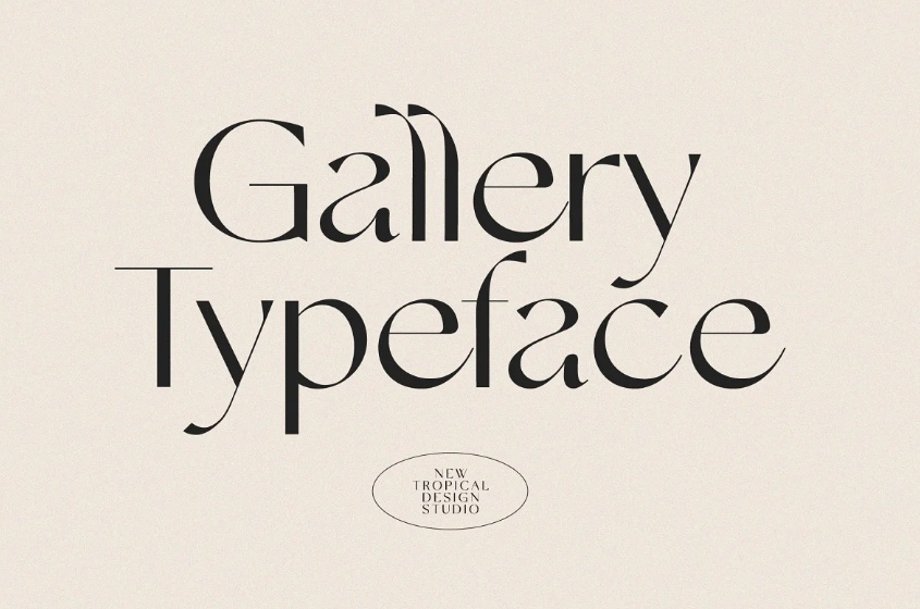 Minimal Fashion Typeface