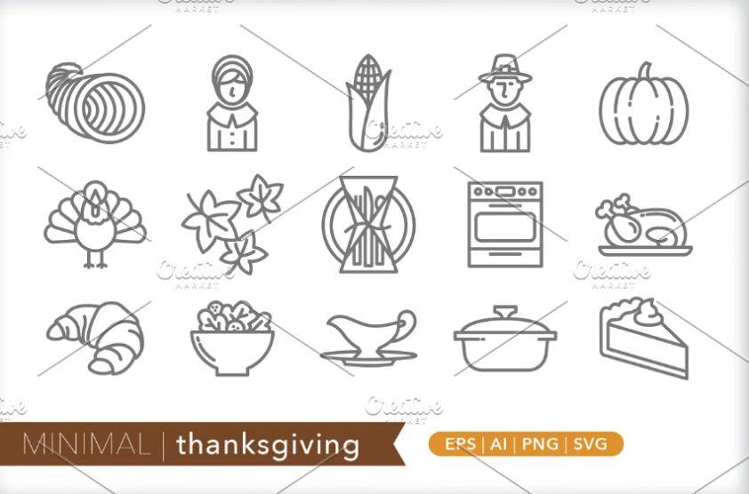 Minimal Thanksgiving Vector Design
