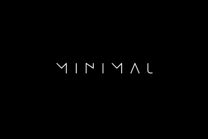 Minimalistic Tech Fonts