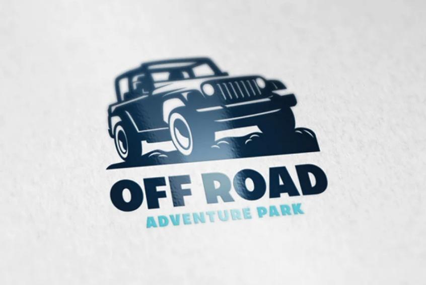 Mountain Jeep Logo Design