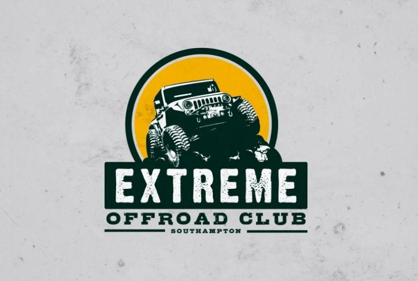 Off Road Club Identity Design