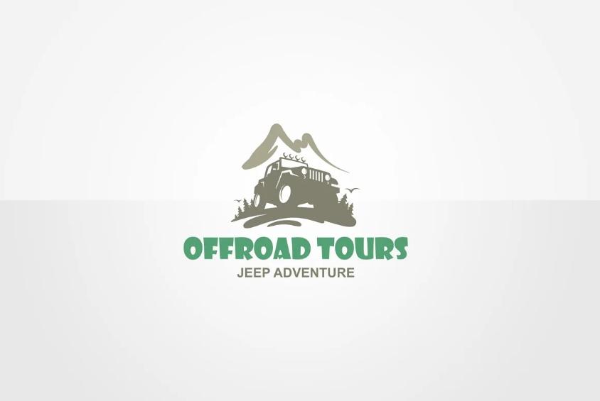 Off Road Tour Logo Identity