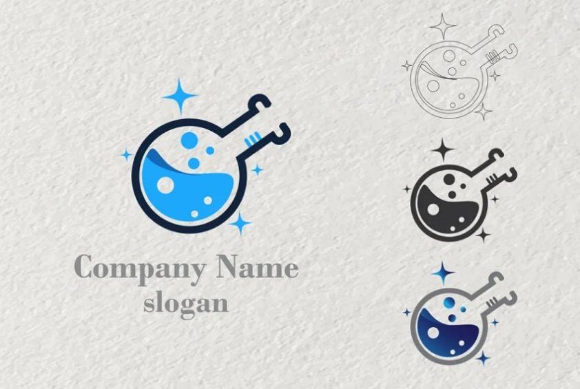 Pharmacy Lab Logo Design