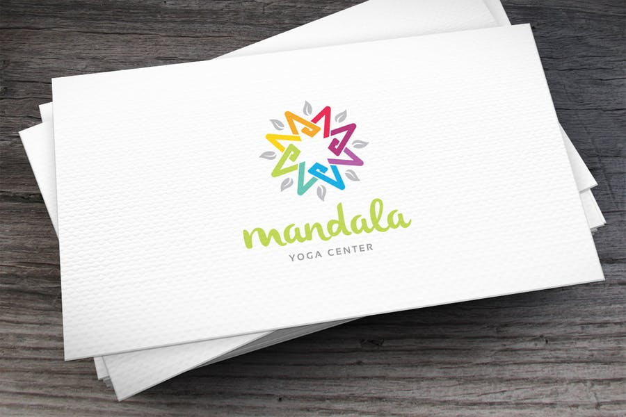 Playful Mandala Logo Design