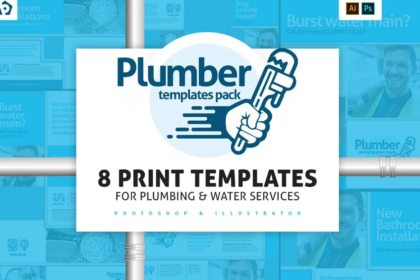 Pluming Services Template Pack
