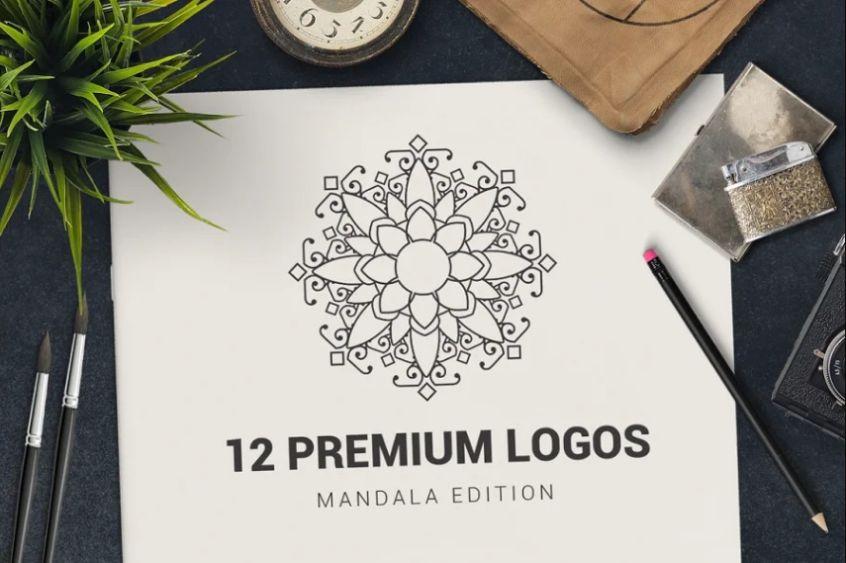 Premium Style Floral Logo Design