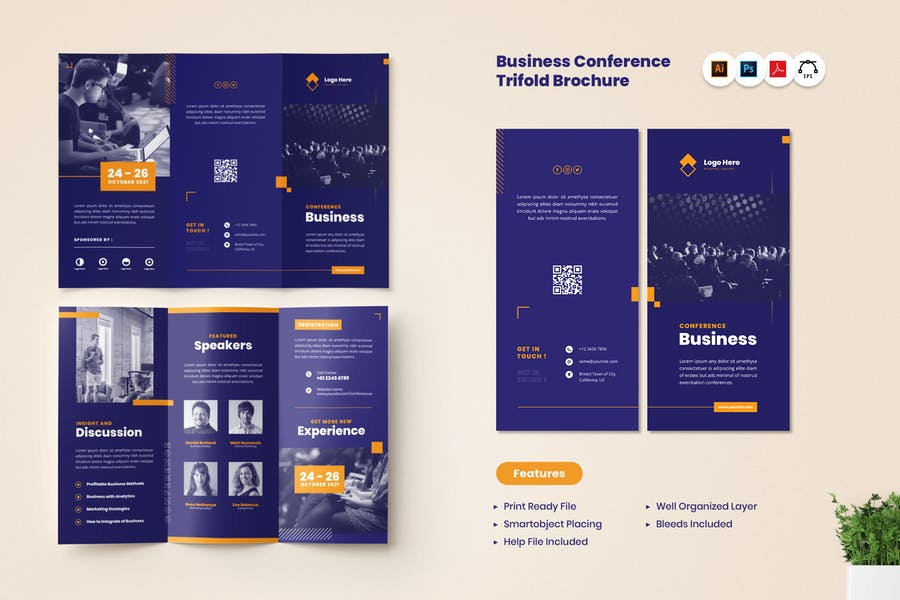 Print Reday Conference Brochure