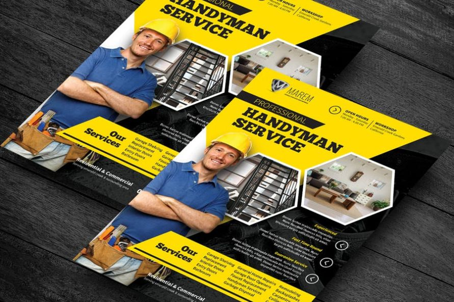 Printable Services Flyer Design