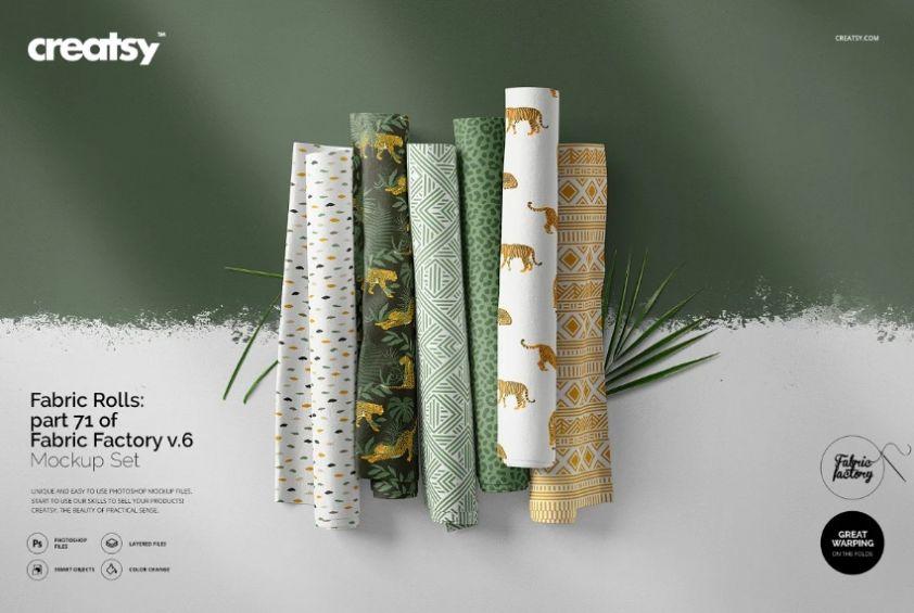 Professional Fabric Design PSD
