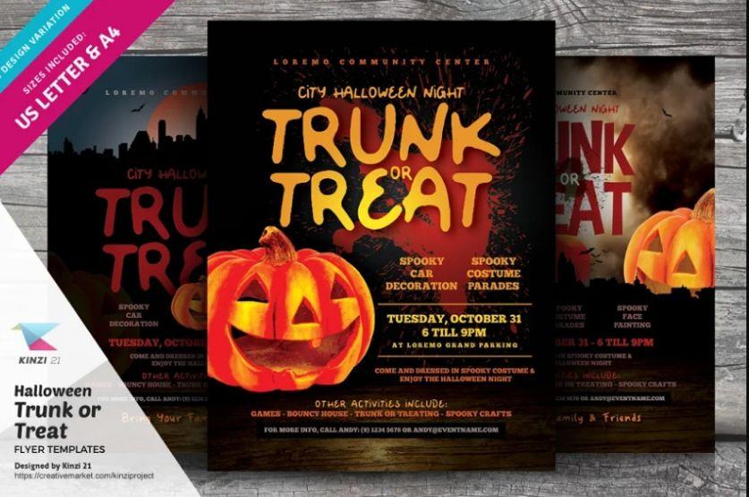Professional Halloween Flyer Design