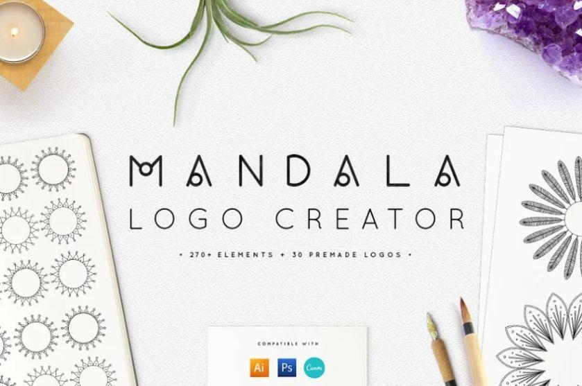 Professional Mandala Logo Creator