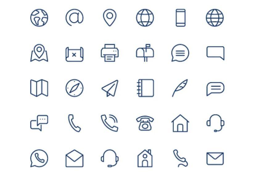 Professional Mini Icons Set