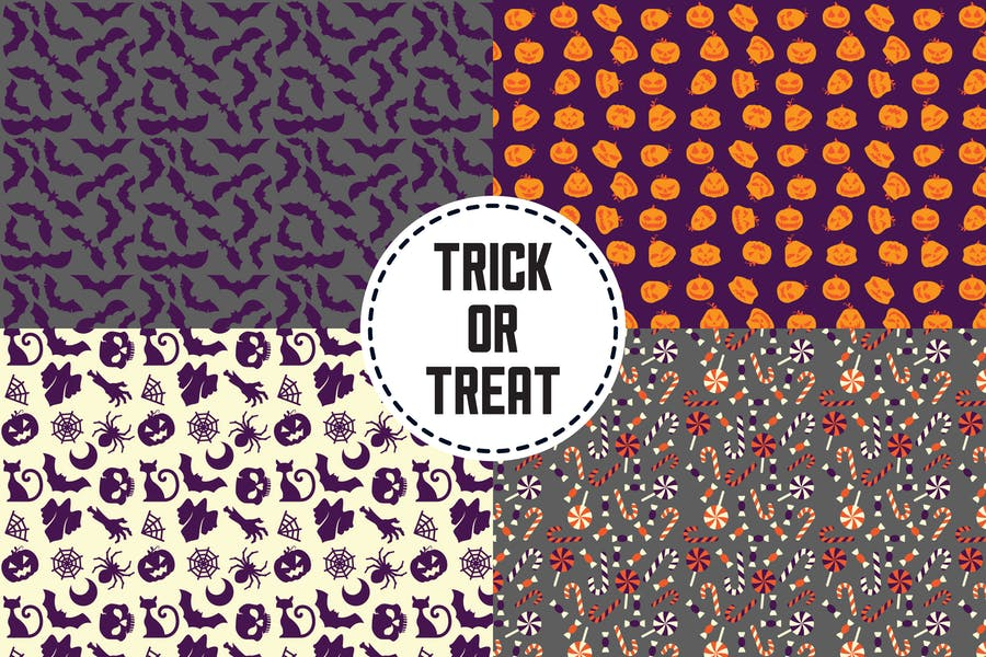 Professional Trick or Treat Patterns