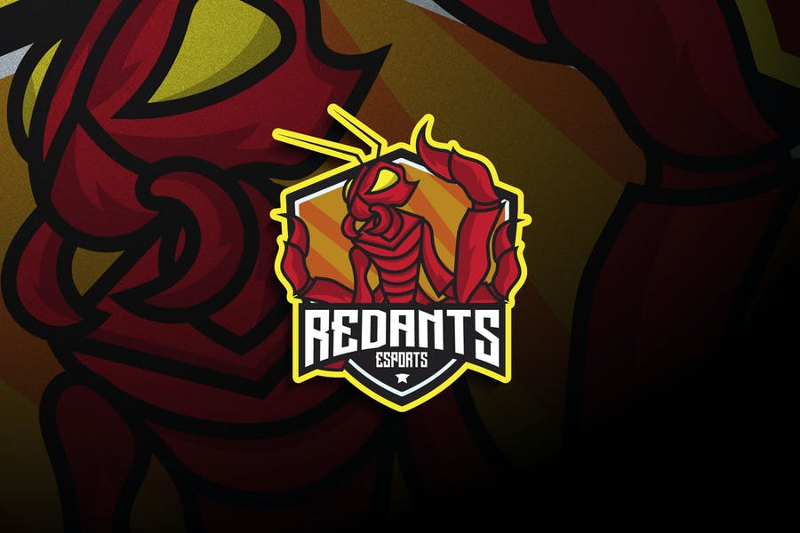 Red Ant Logo Design