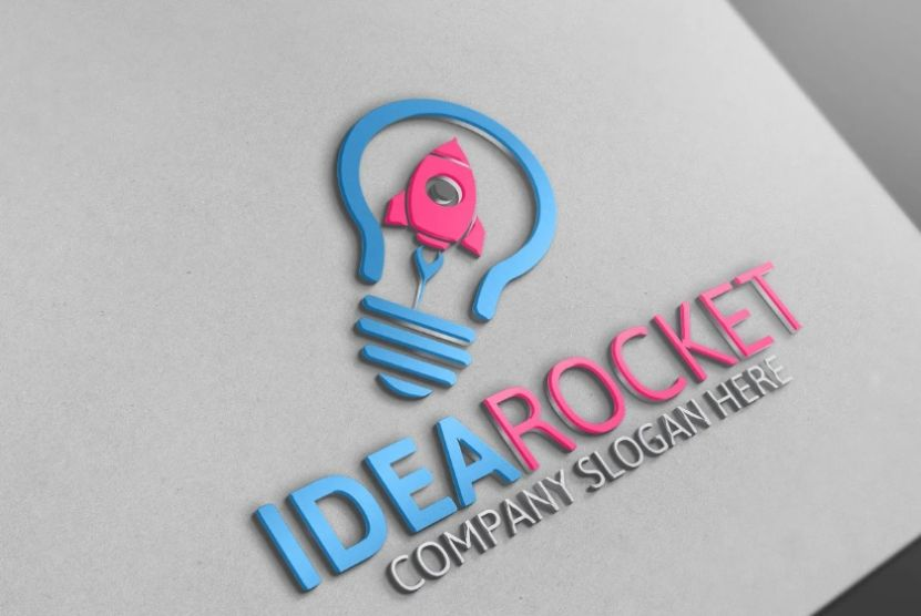Rocket Branding Identity Design