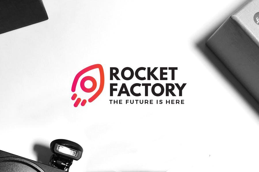 Rocket Factory Identity Design