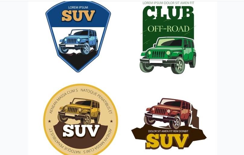 SUV Logo Design