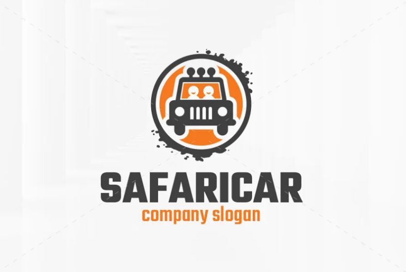 Safari Car Identity Design