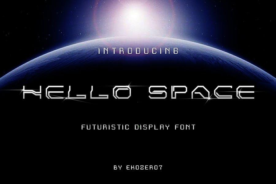 Sci Fi Style Branding Fonts