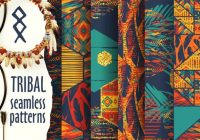Tribal Vector Patterns