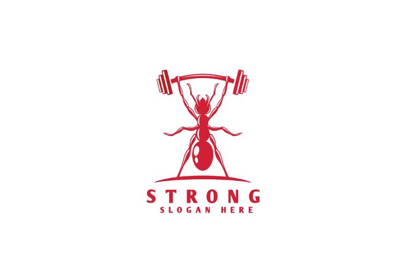 Simple Gym Logo Design