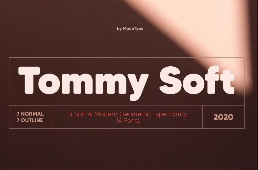 Soft and Modern Fonts