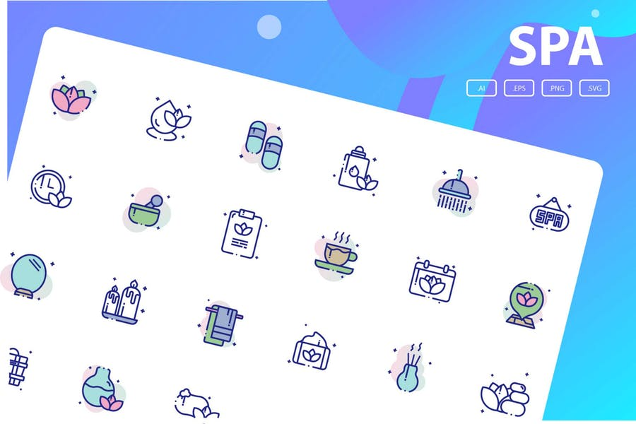 Spa Vector Elements Pack