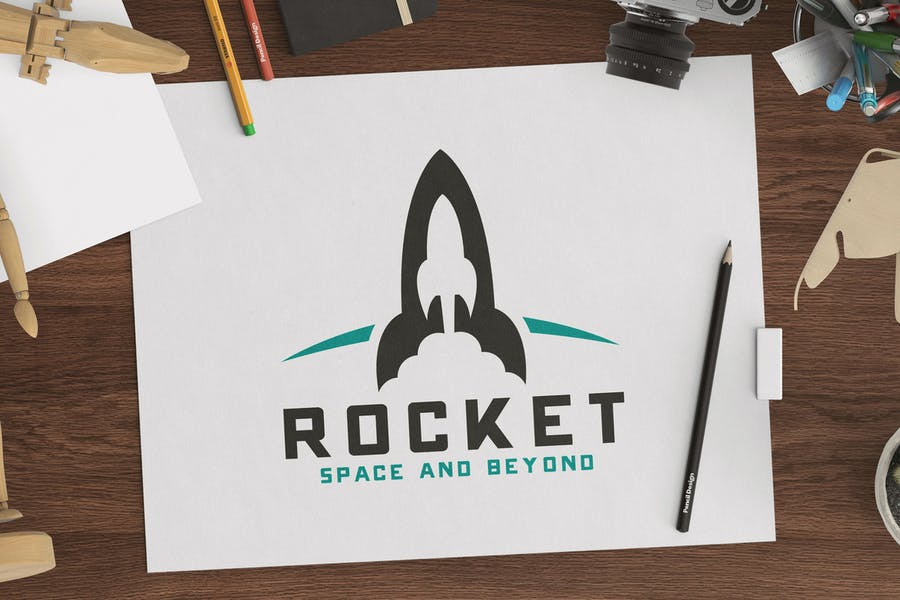 Space and Beyond Logo Design