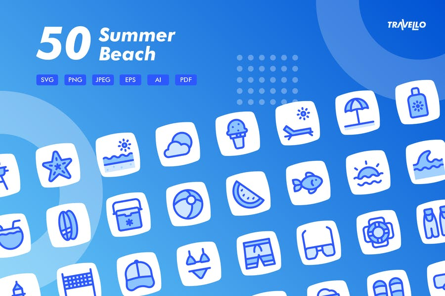 Square Shaped Vector Elements