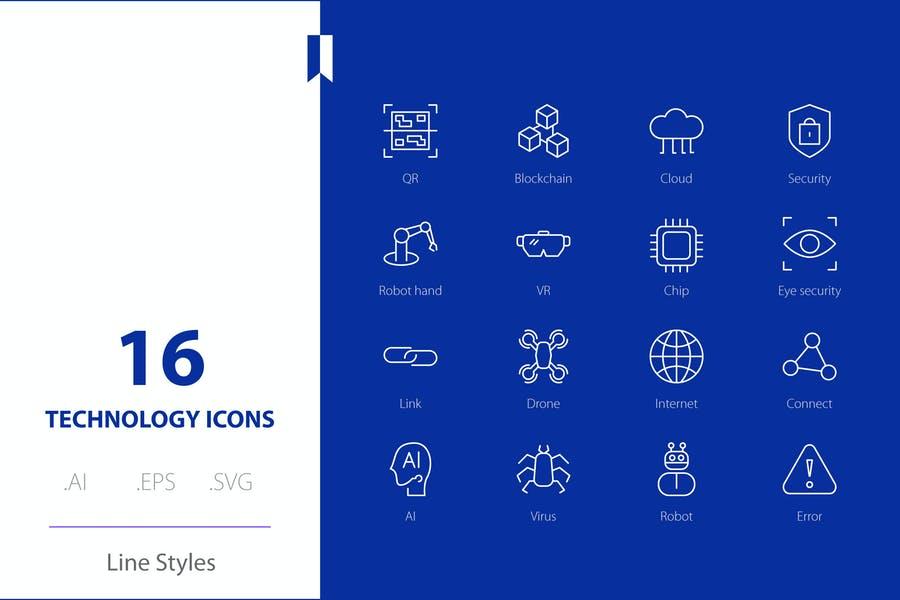 Stroke Editable Vector Icons