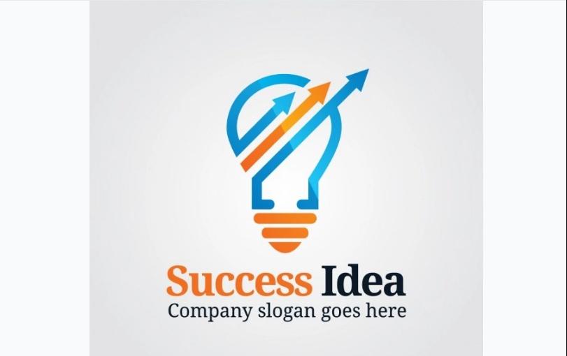 Sucess Idea Logo Design