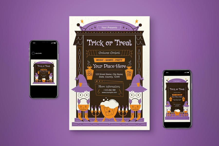 Trick or Treat Promotional Set