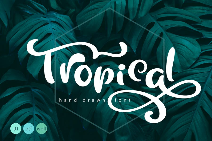 Tropical and Professional Fonts
