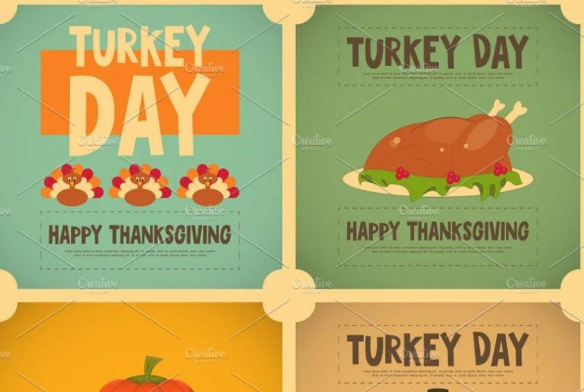 Turkey day Flyer Design