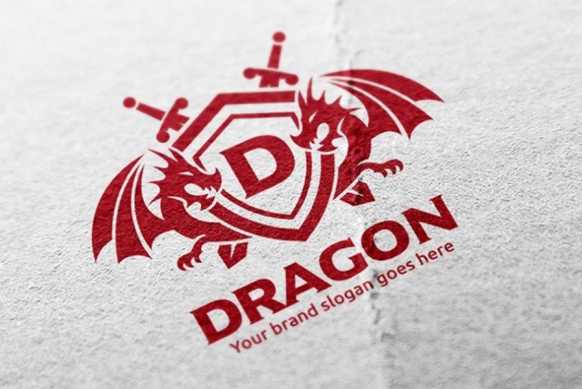 Twin Dragon Logotype