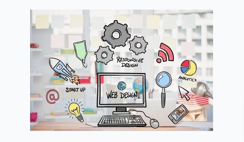Web Design Concerpt Illustration