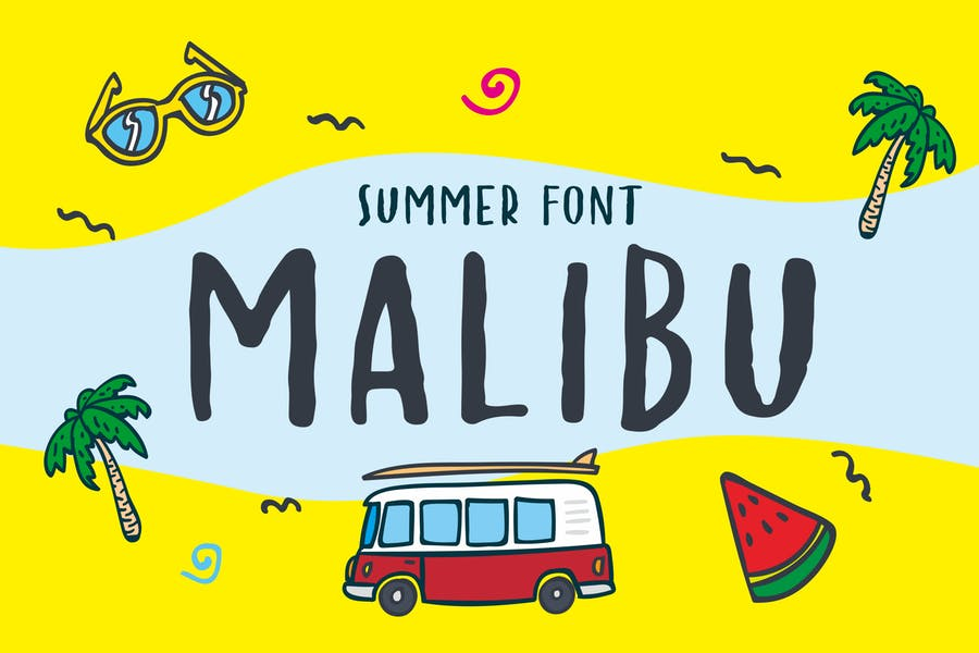Care Free Summer Fonts